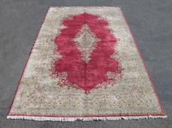 Very Rare Semi Antique Persian Kerman Rug 11x18