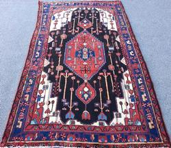 Inspiring Mid Century High Quality Vintage Persian Mission Rug