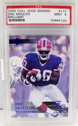 Eric Moulds, Bills Football Card, Mint 9
