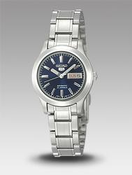 Ladies Blue Dial Day/Date Seiko Automatic