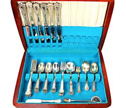 Gorham Buttercup Sterling Flatware Set in Chest