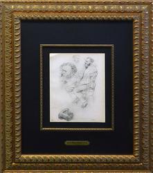 Edgar Degas, Etudes pour un Portrait