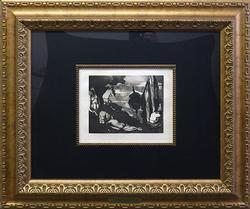 Paul Cezanne, Scene de Plain air