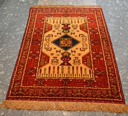Collector's All Silk Double Sided Hand Made Rug