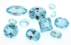 Assortment of 28.32 CTW Loose Topaz Stones