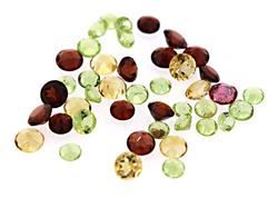 Loose Mix of Colorful Gemstones