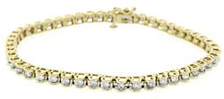2.0 CTW Diamond Illusion Tennis Bracelet