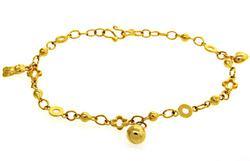 22kt Yellow Gold Charm Bracelet