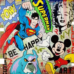 Simply spectacular original acrylic by Jozza