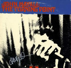 John Mayall Autographed Signed The Turning Point Album