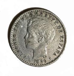 1896 Puerto Rico 10 Centavos