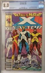 X factor # 26 March 10, 1988 Marvel Comics CGC 8.0