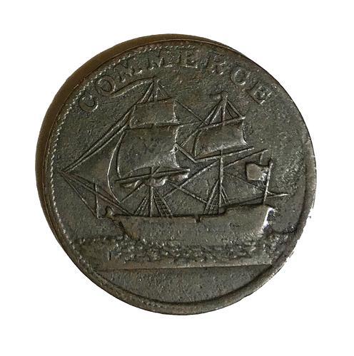 1781 North American Token