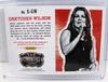 Hand Signed Gretchen Wilson Panini Autograph Card