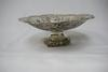 Antique . 800  German Silver Cherub Bowl on Stand