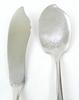 Early Mother of Pearl & Sterling Serving Set