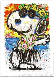 Peanuts Animation Art by Tom Everhart