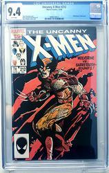 X Men # 212 December 10, 1986 Marvel CGC 9.4