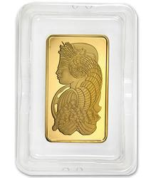 PAMP Suisse 5 Troy Ounce Fine Gold Bar