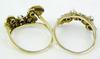 Ornate 10K & Pearls Custom Ring Guard