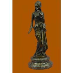 Carrier Exquisite Maiden Bronze Sculpture
