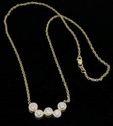 Unique and Elegant 1.60CTW Diamond Necklace