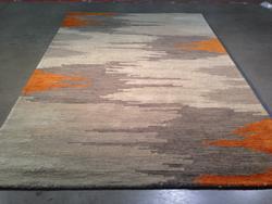 Decorative And Stylish Modern  Wool Rug 5x8