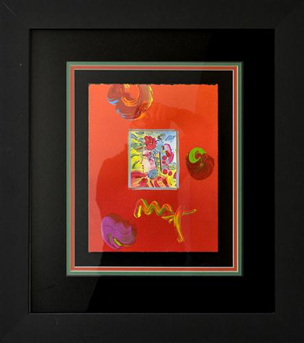 Peter Max Original on Paper