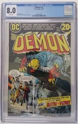 The Demon # 2 DC Comics October 10, 1972 CGC 8.0