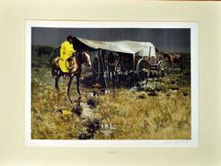James Reynolds Offset Color Litho-print