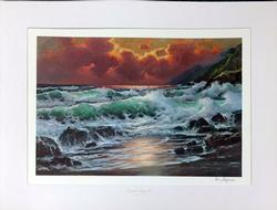 Alex Dzigurski Offset Color Litho-print