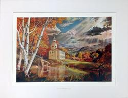 Dean Fausett Offset Color Litho-print