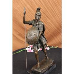 Roman Soldier Bronze Sculpture