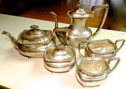 Lord Robert Pattern By International Sterling Tea Set