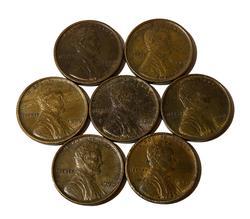 7 Choice 1909 VDB Cents