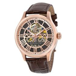 Brooklyn Skeleton Automatic in Rose Tone, New in Box