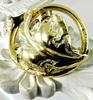 Ornate Victorian Gold Brooch