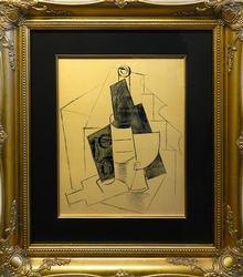 Pablo Picasso Pochoir Circa 1962
