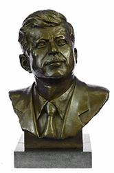 Collector Edition President John Fitzgerald Kennedy Bronze Sculpture