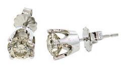 1.45 CTW Diamond Stud Earrings