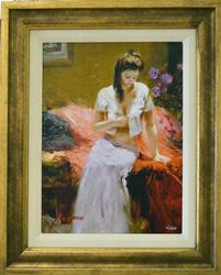 Stunning Pino Into The Night Framed HE Giclee