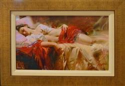 Delightfu Pino Restful Framed HE Giclee