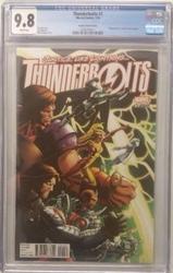 Thunderbolts # 1 Bagley Variant Marvel Comics CGC 9.8