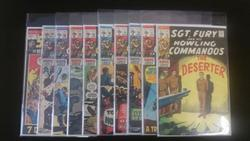 Sgt. Fury Howling Commandos lot of 10 Comics