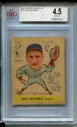 1938 Goudey Heads-up #276 Zeke Bonura BVG 4.5