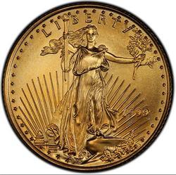 1999 1/4oz Bu American Gold Eagle