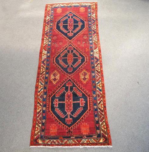 Fine Artistic Semi Antique Persian Malayer 10.3x3.6