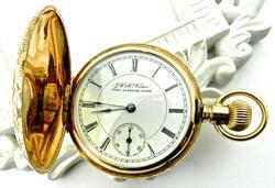 Ornate 14K Illinois Pocketwatch