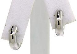 Petite Huggie Earrings in 18K
