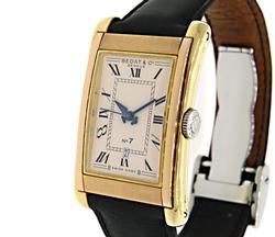 Bedat & Co. No. 7, 18K Gold Wristwatch w/ Leather Strap